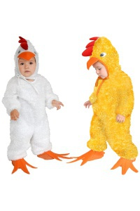 Chicken Little Costume  sc 1 st  CostumeBliss & Baby Carrot Costume