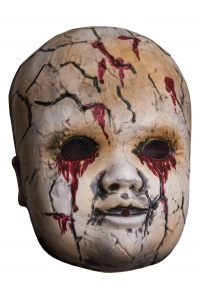 Scary Teddy Bear Costume Mask Halloween
