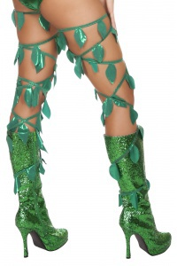 Female Villain Poison Ivy Halloween Costume