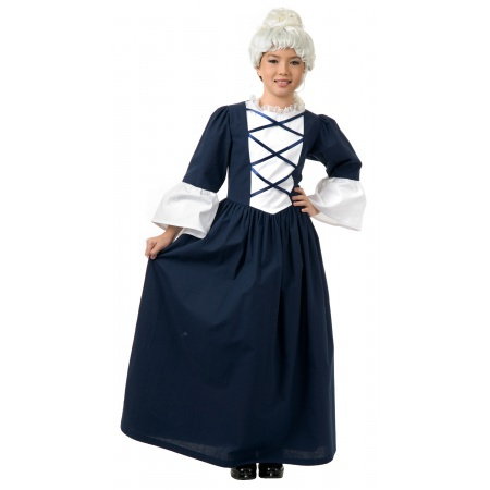 Colonial Girl Costume image