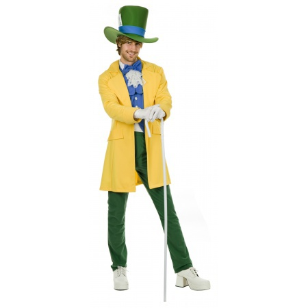 Mad Hatter Costume Alice In Wonderland image