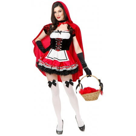 Sexy Red Riding Hood Costume image