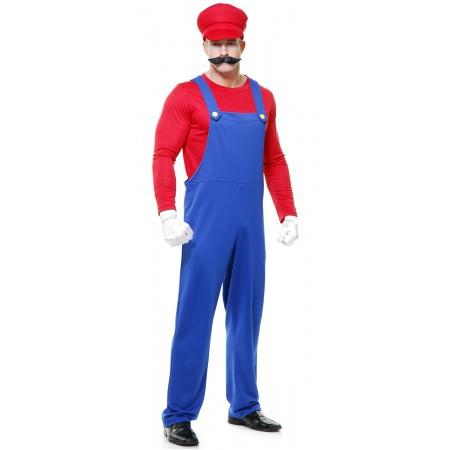 Mario Halloween Costume For Men image