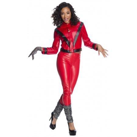 Women Michael Jackson Costume image