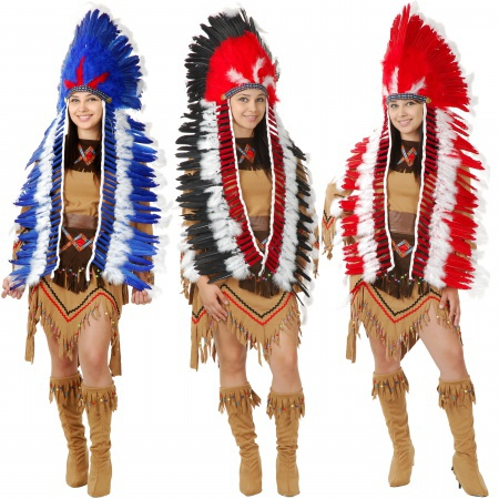 Indian Chief Headdress image
