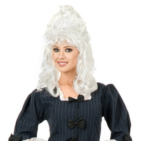 Womens Colonial Wig image