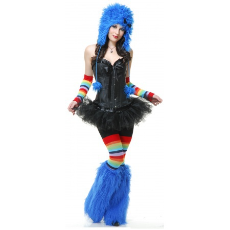 Furry Monster Costume image