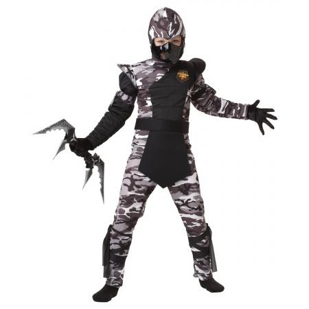 Camo Ninja Costume image