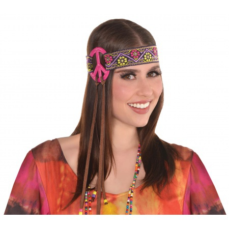 Hippie Costume Headband image