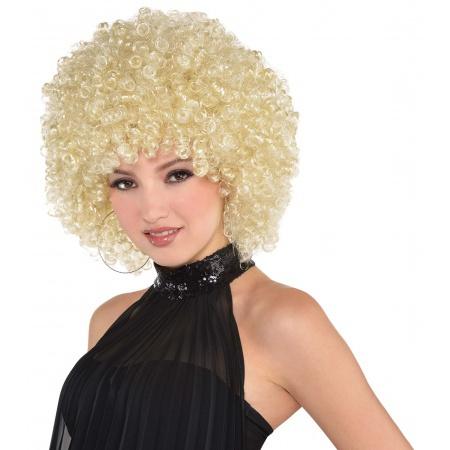 Blonde Afro Wig  image