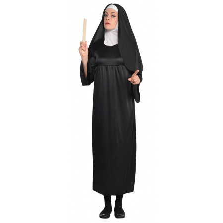 Nun Halloween Costume image