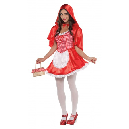 Little Red Riding Hood Costume Adults image