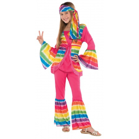 Hippie Costume For Kids image