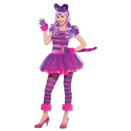 Cheshire Cat Costume Teen image