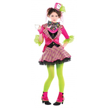 Mad Hatter Girl Costume image