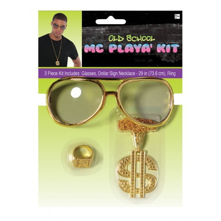 80s Rapper Costume Kit image