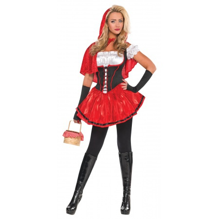 Adult Little Red Riding Hood Costume image