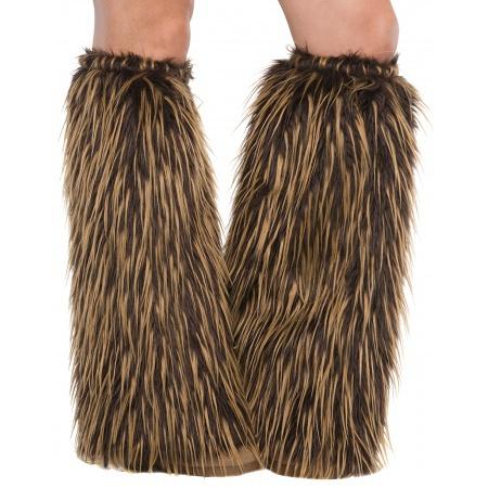 Brown Leg Warmers image