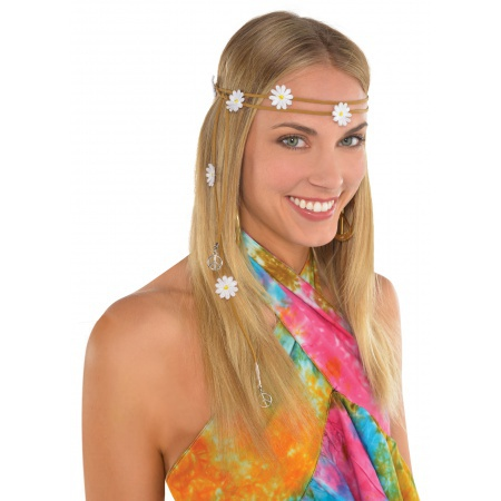 Hippie Headband Costume Accessory image