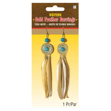 Feather Earrings image