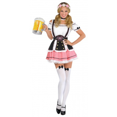 Sexy Beer Girl Costume image