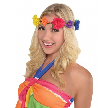 Hippie Flower Headband image