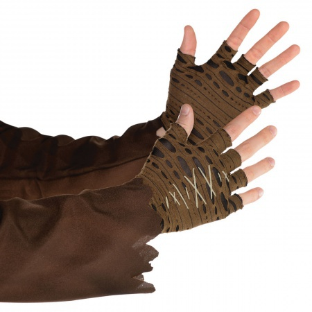 Witch Doctor Costume Gloves image