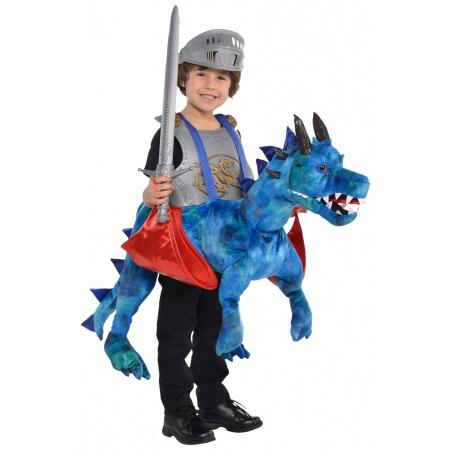 Ride On Dragon Costume image