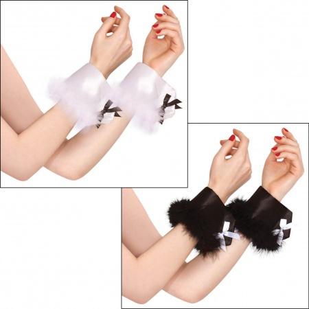 Sexy Bunny Costume Wrist Cuffs image