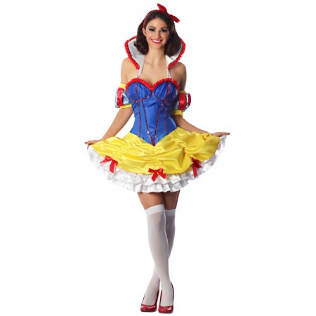 Sexy Snow White Costume image