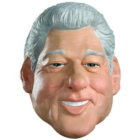 Bill Clinton Mask image