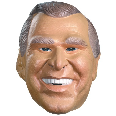 President George W. Bush Costume Mask Political Republican image