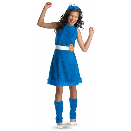 Cookie Monster Girl Costume image