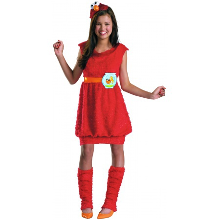 Tween - Teen Elmo Costume image