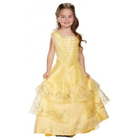 Kids Belle Costume  image