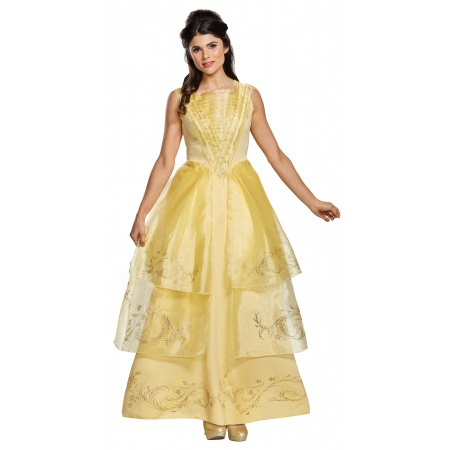 Adult Belle Costume image