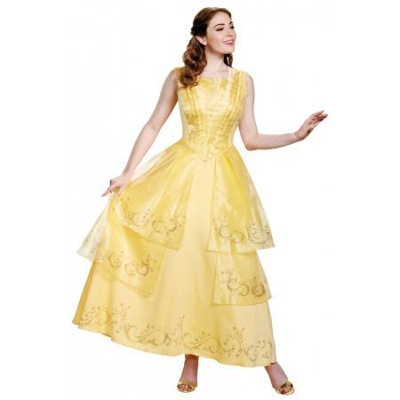 Adult Belle Costume image