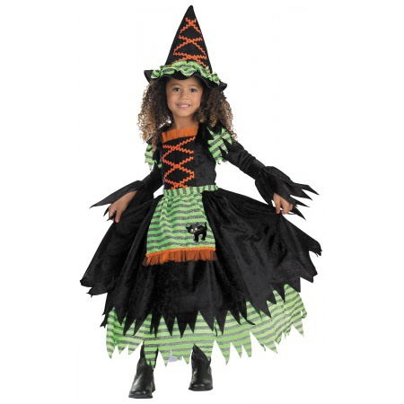 Toddler Witch Costume image