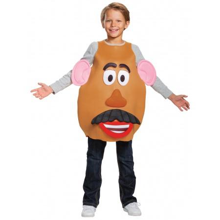 Kids Mr And Mrs Potato Head Costume image