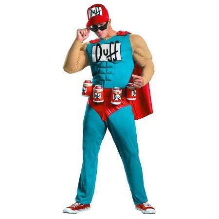 Duffman Costume  image