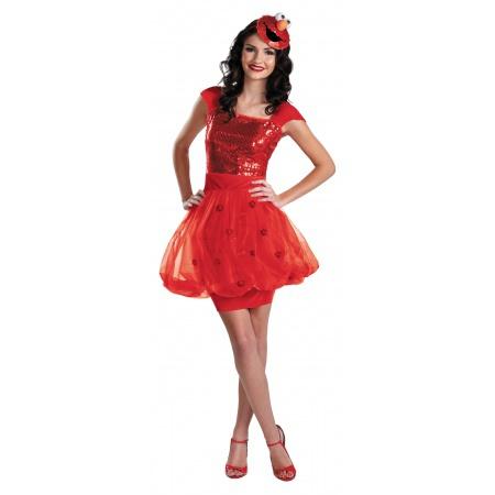 Adult Elmo Costume image