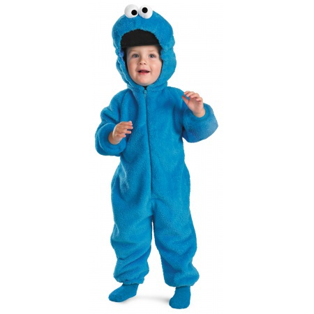 Cookie Monster Deluxe Costume Two-Sided Plush image