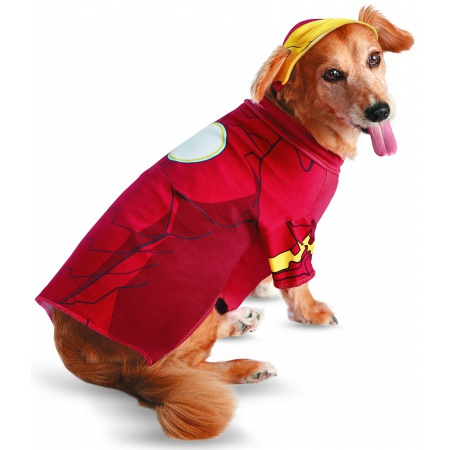 Iron Man Dog Costume image
