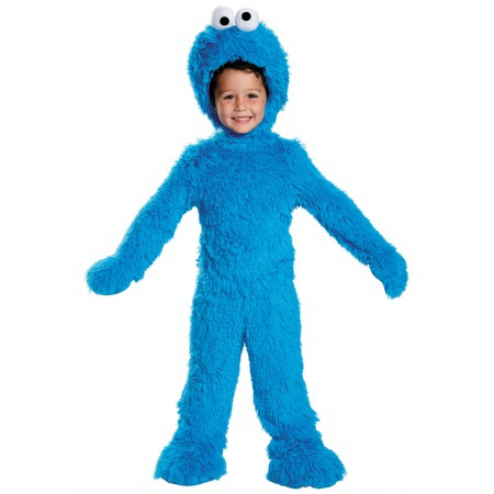 Baby Cookie Monster Costume image