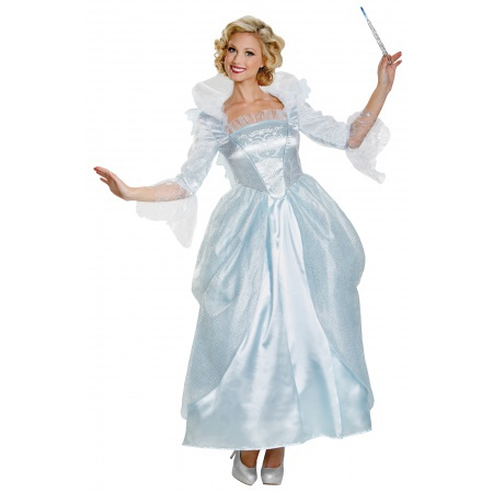 Adult Fairy Godmother Costume image