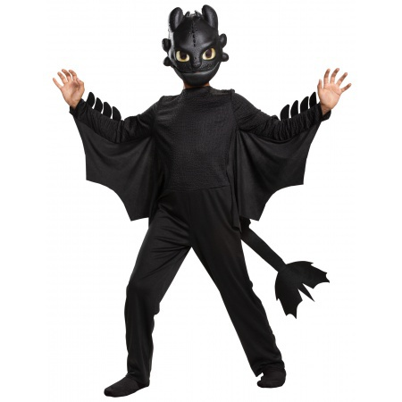 Toothless Dragon Costume image