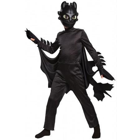 Kids Toothless Costume image