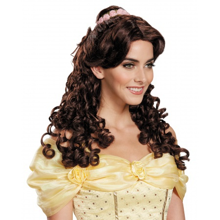Beauty And The Beast Adult Belle Wig image