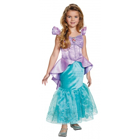 Girls Ariel Costume image