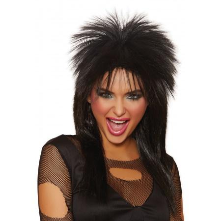 80s Rockstar Wig image